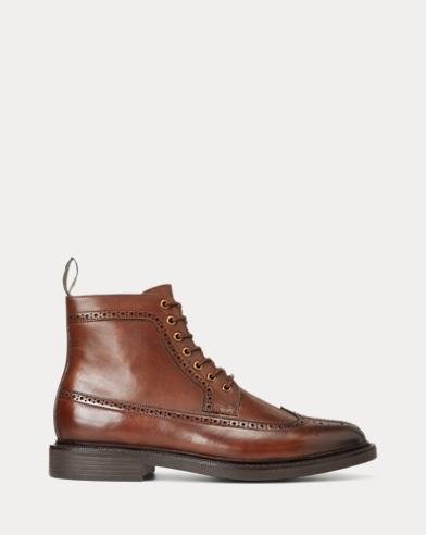 Asher Leather Wingtip Boot