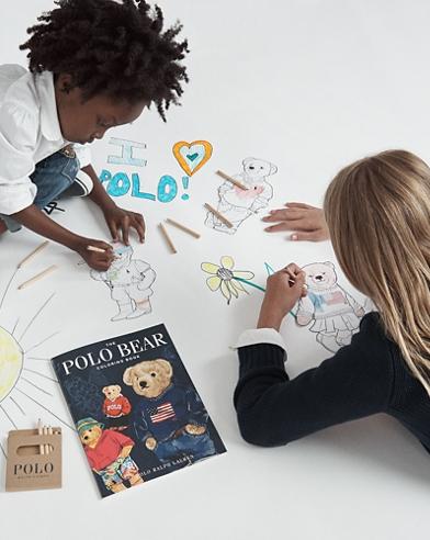 The Polo Bear Colouring Book