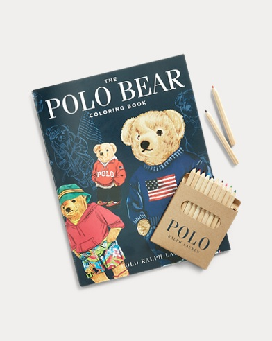 The Polo Bear Colouring Book