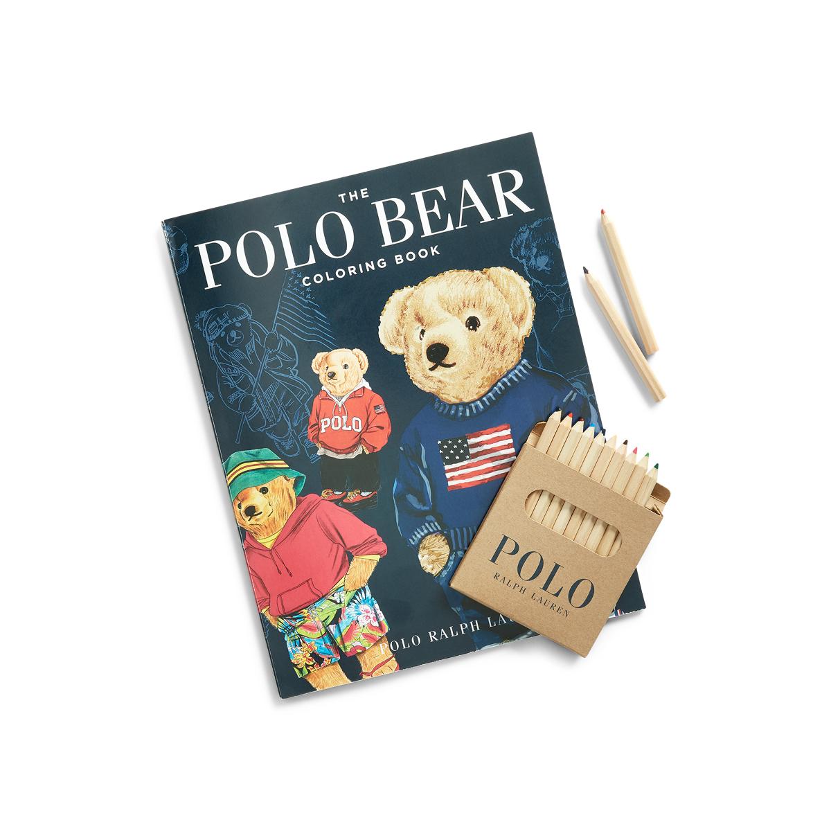 The Polo Bear Coloring Book