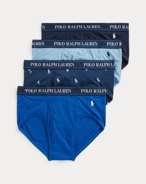 Stretch Low-Rise Brief 4-Pack