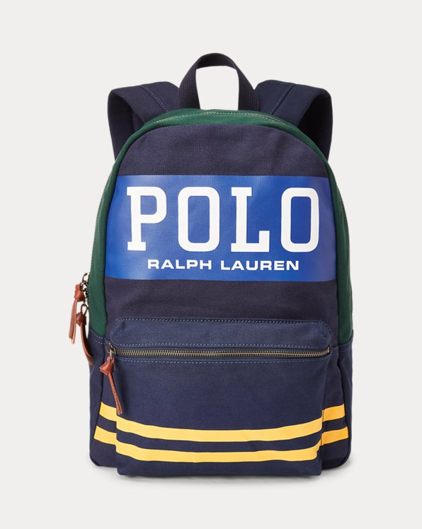Polo Canvas Backpack
