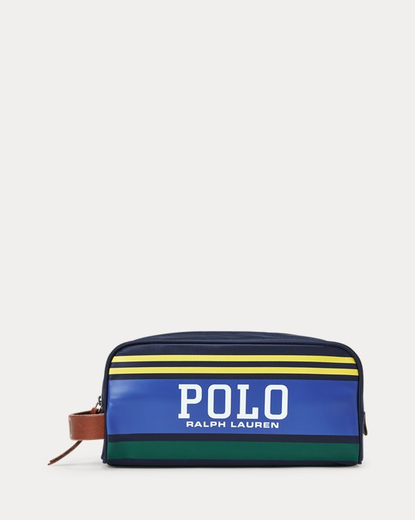 Polo Stripe Travel Case