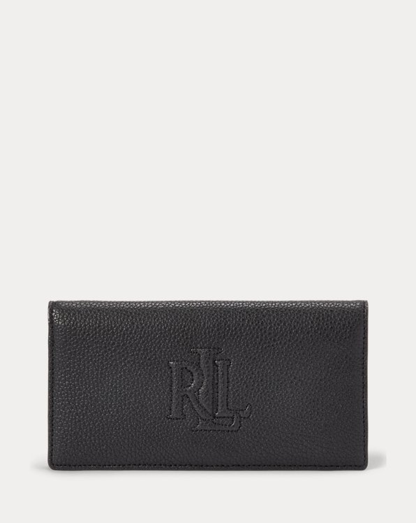 Slim Pebbled Leather Wallet