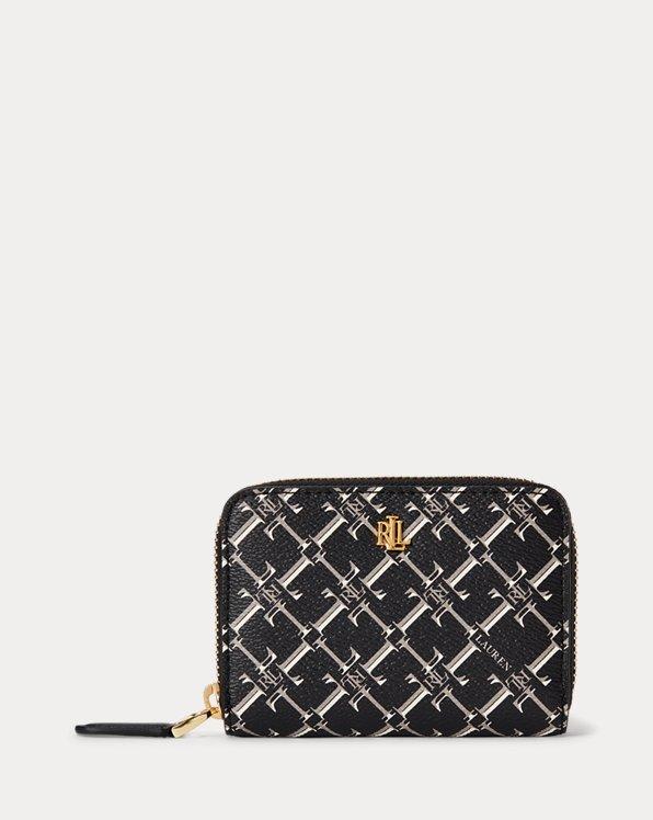 Brieftasche mit Druck und Reißverschluss