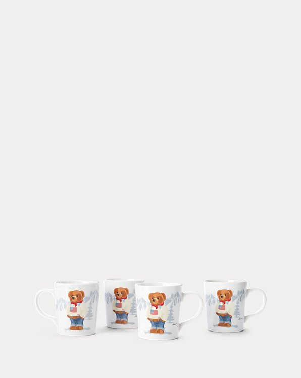 Haven Flag Bear Mug Set