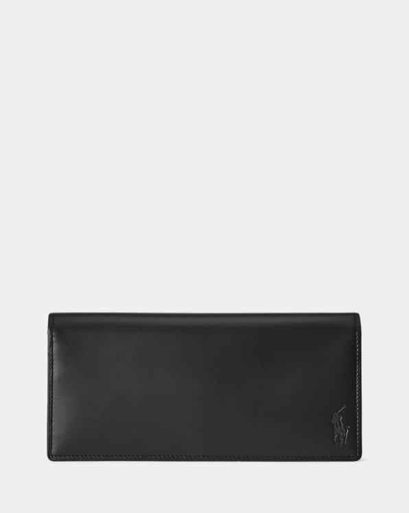 Calfskin Long Wallet
