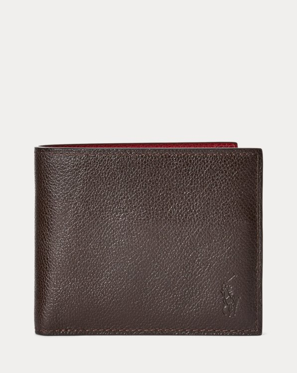 Burnished Leather Billfold
