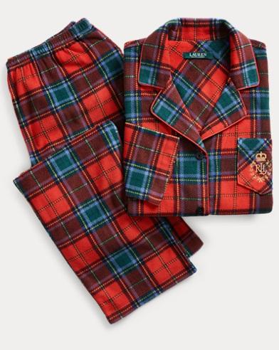 Plaid Fleece Pyjama Set