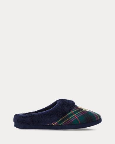 Pantofole scozzesi in cotone