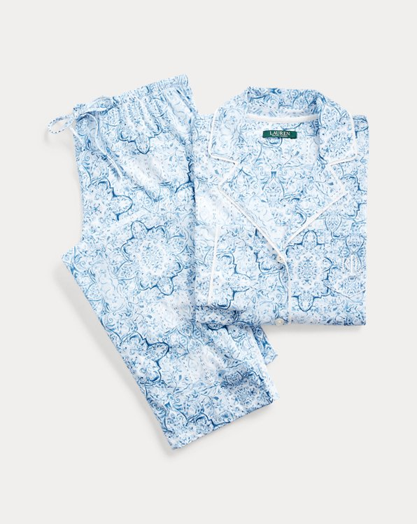 Paisley Cotton Pyjama Set