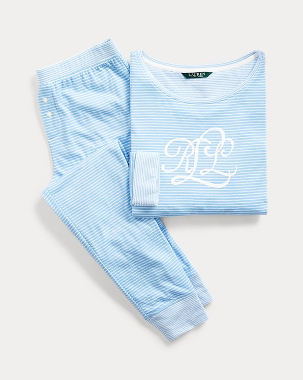 Cotton-Blend Pyjama Set