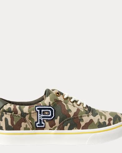 Thornton Camo Canvas Sneaker