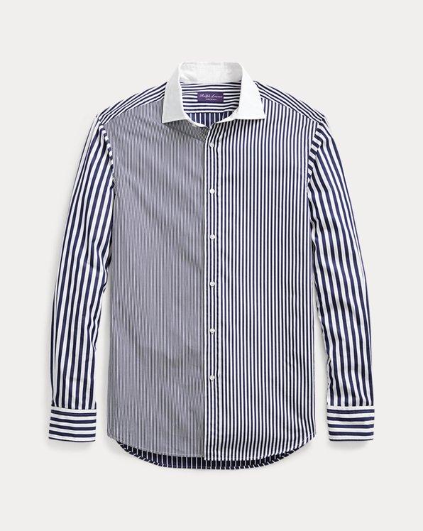 Patchwork Bengal-Stripe Shirt