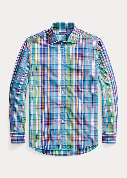 Polo Ralph Lauren Plaid Washed Poplin Shirt