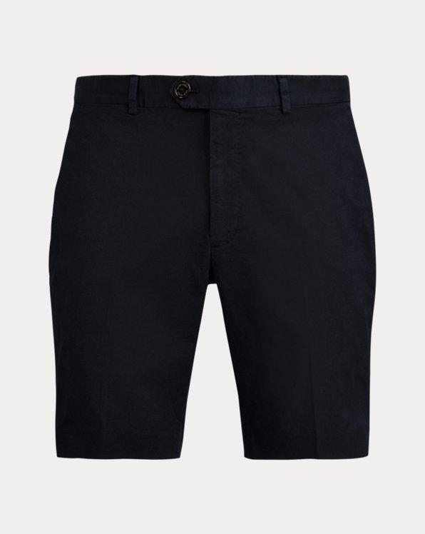 Pantalón corto chino elástico Slim Fit