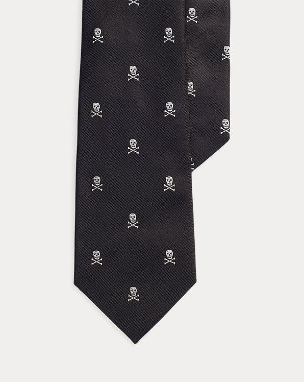 Skull-and-Crossbones Repp Tie