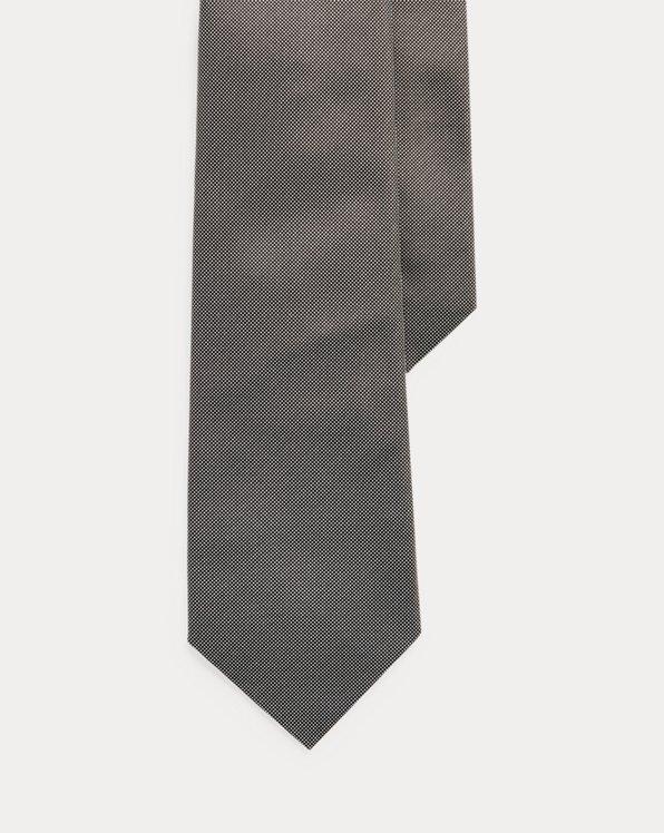 Micro-Pin Dot Silk Tie