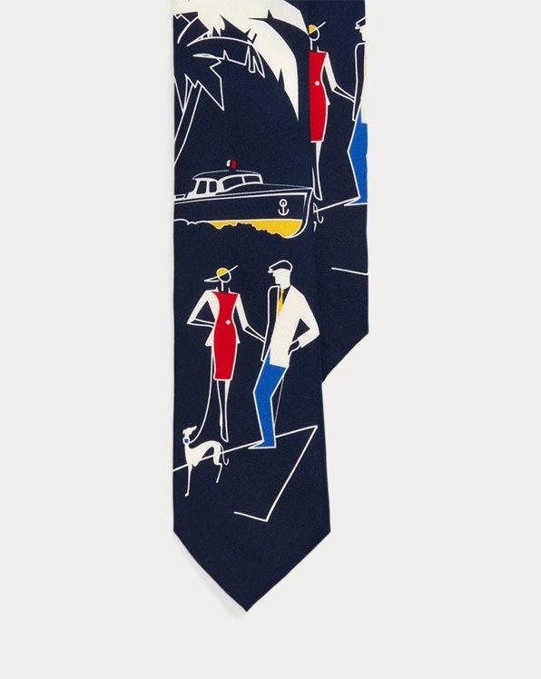 Silk Graphic Tie