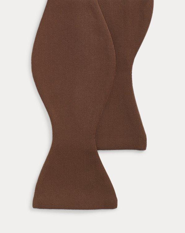 Wool Gabardine Bow Tie