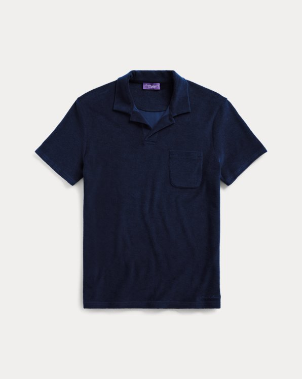 Custom Slim Fit Terry Polo
