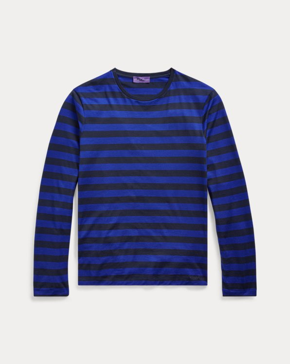 Striped Lisle T-Shirt