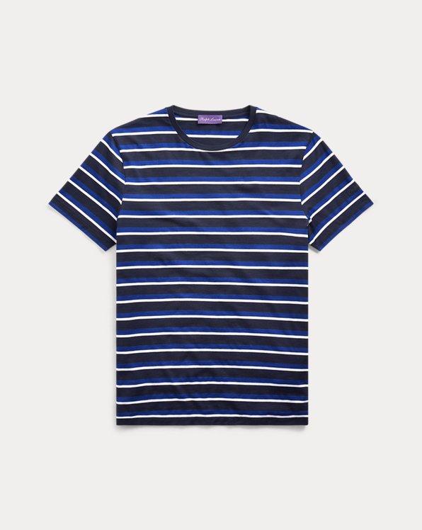 Striped Lisle T-Shirt
