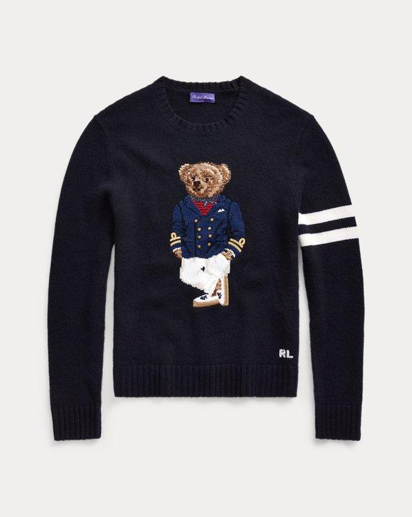 Bear Cashmere-Blend Sweater