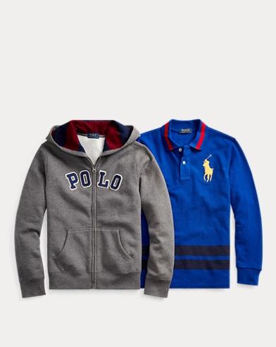 Hoodie & Polo 2-Piece Gift Set