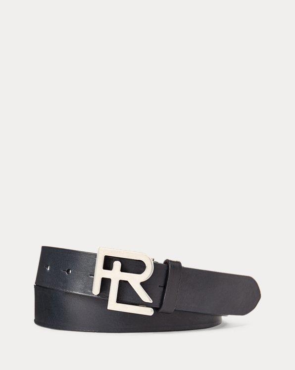 RL-Buckle Leather Belt