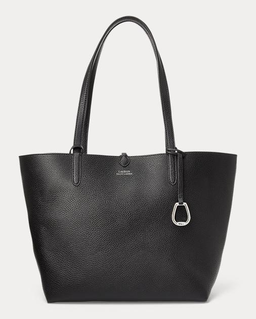 Reversible Vegan Leather Tote by Ralph Lauren