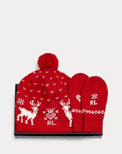 Hat & Mittens 2-Piece Gift Set