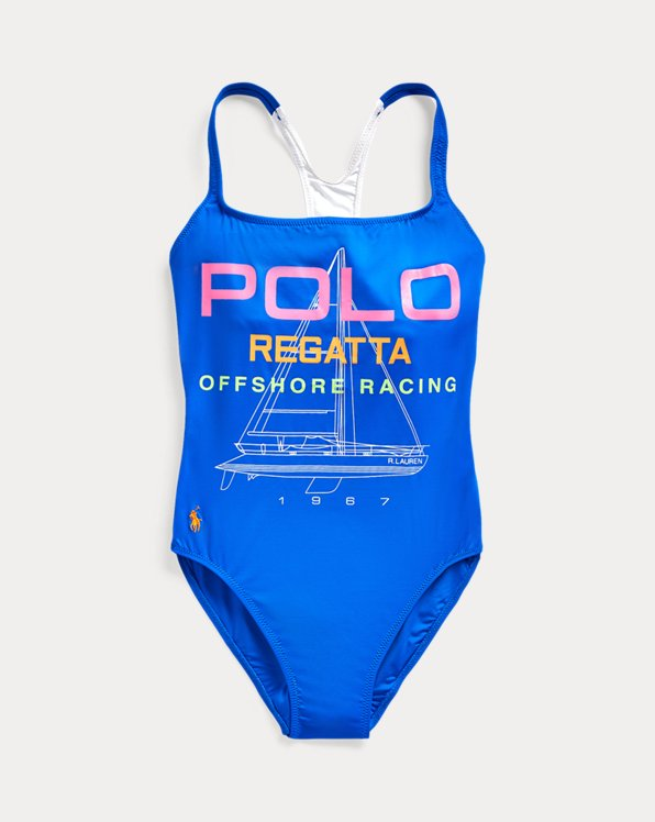 Racerback One-Piece Swimsuit