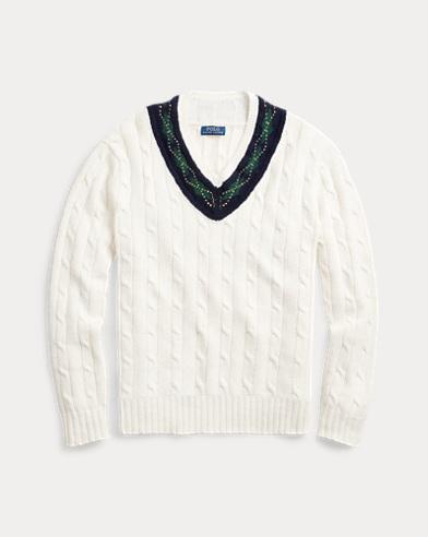 Argyle-Trim Cricket Jumper