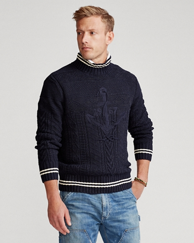 Hand-Embroidered Jumper