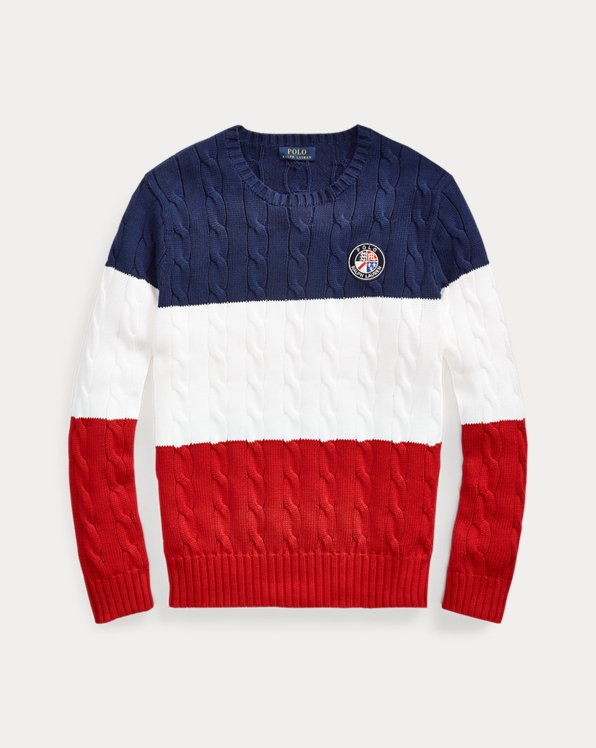 Polo Cookie Cotton Sweater