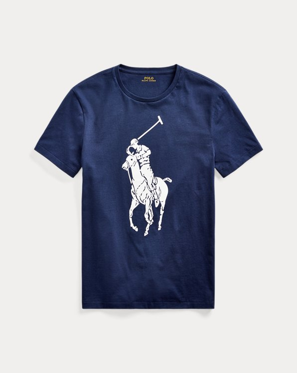Custom Slim Big Pony T-Shirt