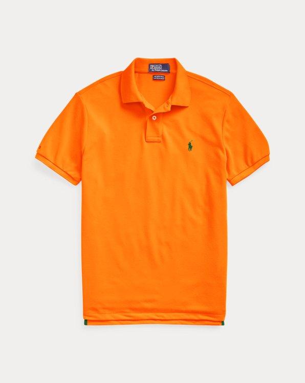 Men's Orange Polo Shirts | Ralph Lauren