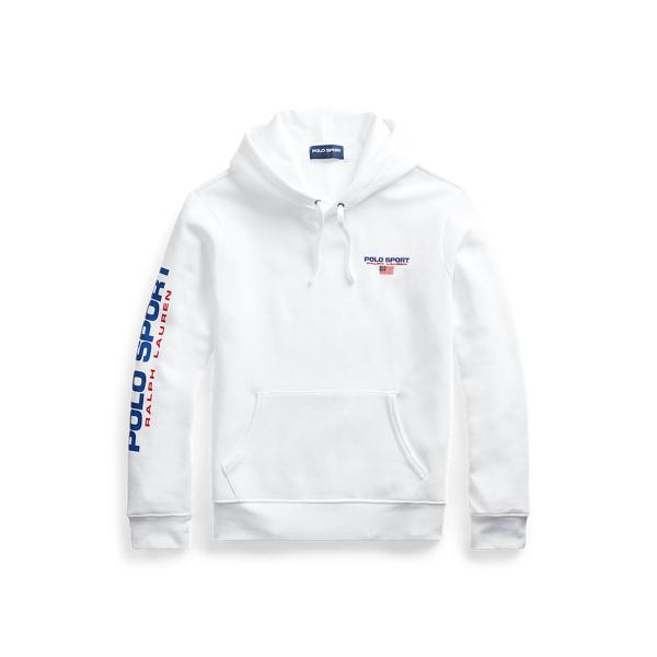 폴로 랄프로렌 Polo Ralph Lauren Polo Sport Fleece Hoodie,White