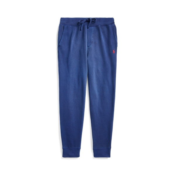 폴로 랄프로렌 Polo Ralph Lauren Garment-Dyed Fleece Pant,Cruise Navy