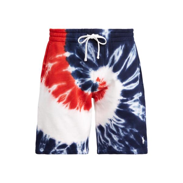Ralph Lauren Tie-dye French Terry Short In Multi