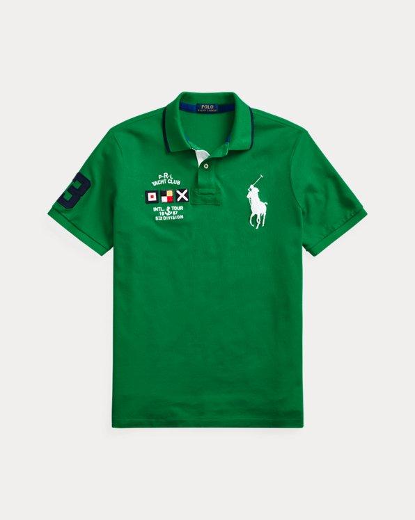 Yacht Club Mesh Polo Shirt - All Fits
