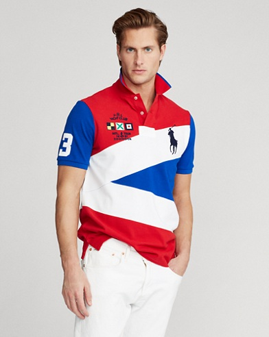Yacht-Crest Mesh Polo Shirt - All Fits