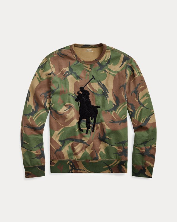 Sweat Big Pony camouflage