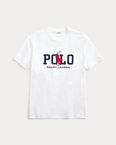 폴로 랄프로렌 Polo Ralph Lauren Classic Fit Logo T-Shirt,White