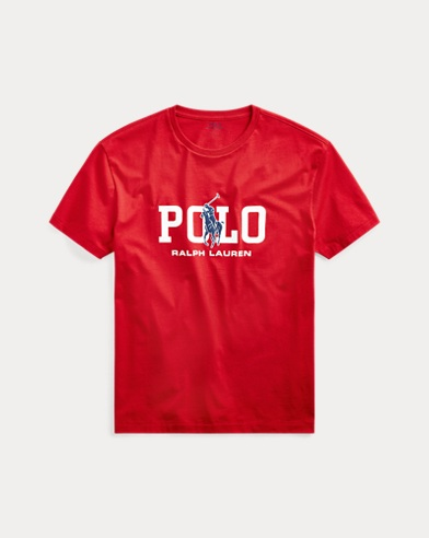 폴로 랄프로렌 Polo Ralph Lauren Classic Fit Logo T-Shirt,RL 2000 Red
