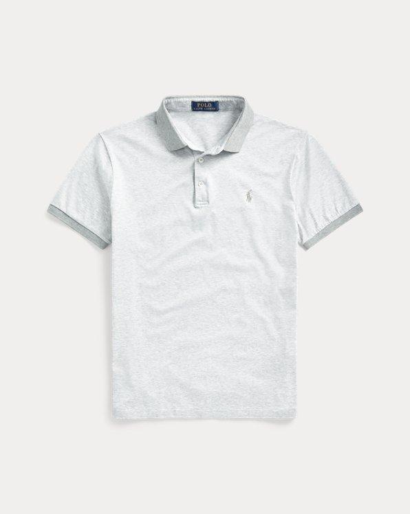 Polo coupe ajustée en jersey