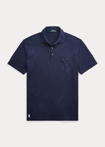Polo Ralph Lauren Custom Slim Fit Jersey Polo Shirt