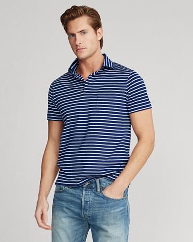 Custom Slim Fit Jersey Polo
