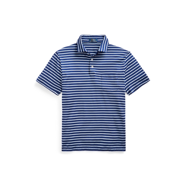 폴로 랄프로렌 Polo Ralph Lauren Custom Slim Fit Jersey Polo,Fall Royal Multi